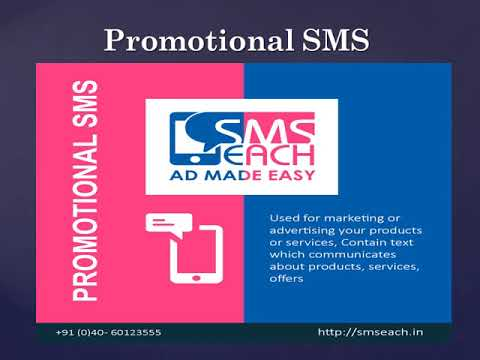 SMSEach - The Best Bulk SMS Service provider.
