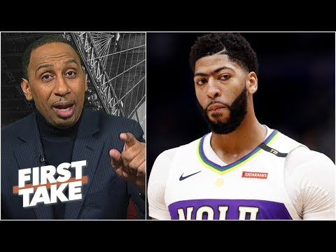 Video: Anthony Davis' minutes restriction isn't fair to the fans – Stephen A. | First Take