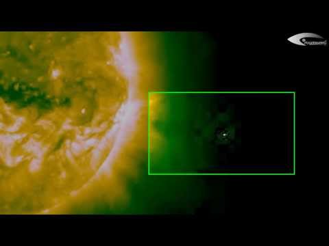 UFOs activity near the Sun and solar anomalies – Review for February 10, 2014