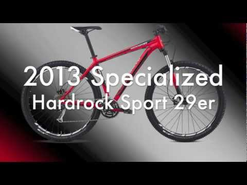 2013 Specialized Hardrock Mountain BIke from World Bicycle Harlingen, Brownsville, McAllen