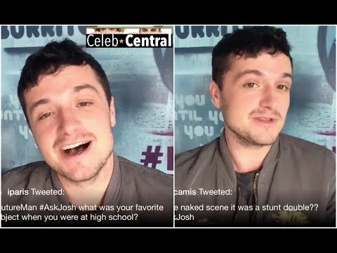 JOSH HUTCHERSON answers fan questions about his show