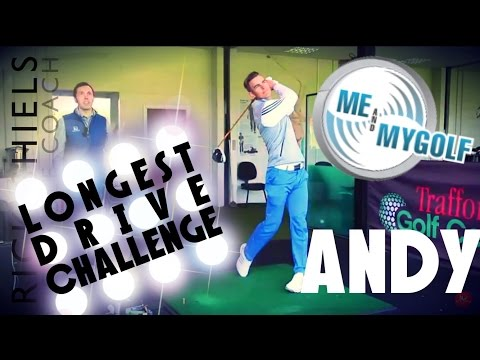LONGEST DRIVE CHALLENGE ANDY FROM ME AND MY GOLF