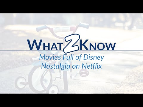 Movies Full of Disney Nostalgia on Netflix