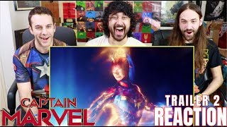 CAPTAIN MARVEL - TRAILER #2 - REACTION!!! by The Reel Rejects