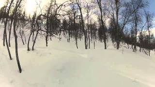 9. Snowmobile sweden polaris RMK Dragon 700