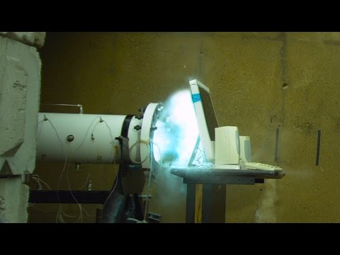 The Slow Mo Guys iMac Annihilation With a Combustion