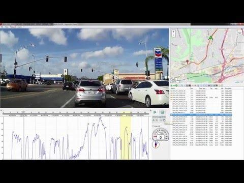 Dashcam Footage: Registrator Viewer Playback Software