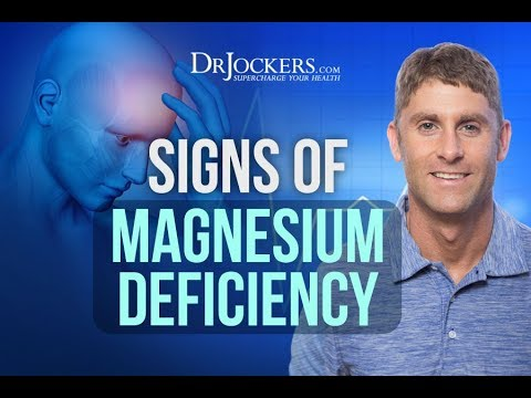10 Signs of a Magnesium Deficiency (видео)