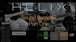 Paul HindmarshによるHelix LTを使ったサウンドサンプル・ビデオのパート1です。 全てのギターおよびベース・パートはHelix LTを使って...
