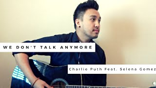 We Don't Talk Anymore (Feat. Selena Gomez) | Charlie Puth (Cover By Angelo Munji)