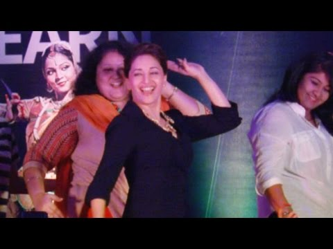 Madhuri Dixit Gets Emotional At The Launch Of Danc