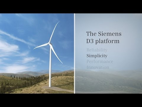Siemens Wind Power D3 Platform Animation