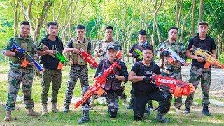 Video LTT Nerf War : Squad SEAL X Warriors Nerf Guns Fight Criminal Group Avenge Colleagues MP3, 3GP, MP4, WEBM, AVI, FLV Januari 2019