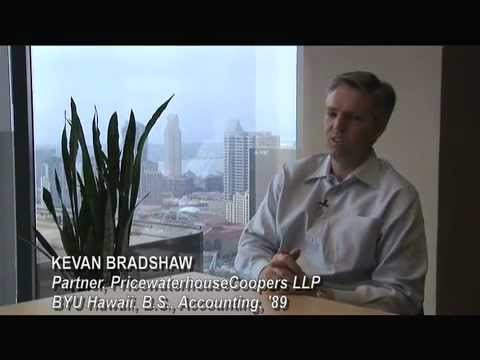 Kevan Bradshaw, PricewaterhouseCoopers Video and BYU Hawaii Alumni
