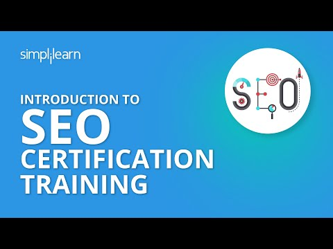 Introduction To SEO Certification Training   Simplilearn