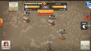 Purwokerto Indonesia  City new picture : Olimpiade Clash of Clan INDONESIA strategi Attack PURWOKERTO WAR TH 10 & 9 BEST COMBO TROOPS