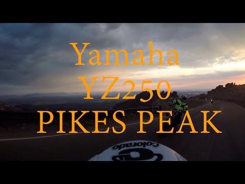 Yamaha YZ 250 Rip's up Pikes Peak! RACES