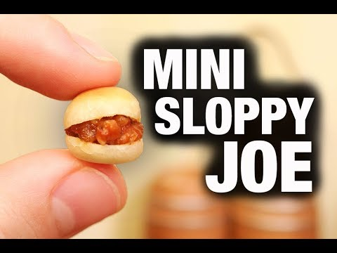 MINI SLOPPY JOE!