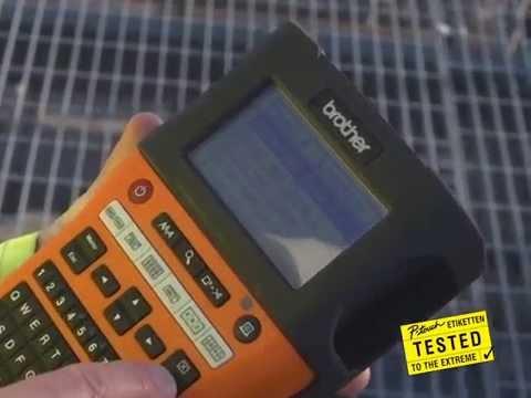 Industrielle Beschriftungsgeräte PT-E100VP,  PT-E300VP und PT-E550WVP