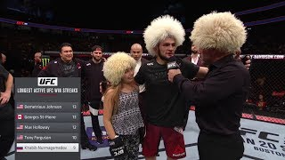 Video Mini khabib Meeting khabib nurmagomedov at ufc 219 MP3, 3GP, MP4, WEBM, AVI, FLV Oktober 2018