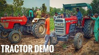 Swaraj 963 vs MF 9500 on 3MB Plough and Rotavator  ਸਵਰਾਜ ਤੇ ਮੈਸੀ ਦਾ ਪੇਚਾ 
