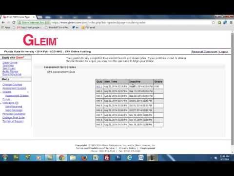 Gleim How to Use (видео)