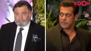 Video Rishi Kapoor Upset With Salman Khan's Behaviour At Sonam Kapoor's Wedding Reception MP3, 3GP, MP4, WEBM, AVI, FLV Oktober 2018
