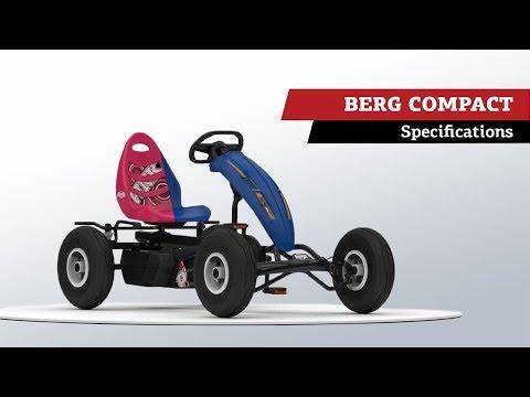 BERG Compact Pink BFR | BERG Gocarts