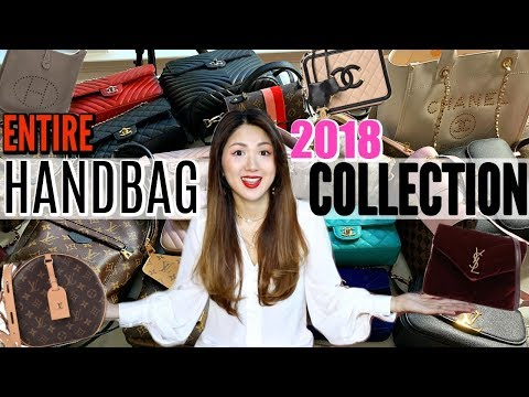 MY ENTIRE DESIGNER HANDBAG COLLECTION OF 2018 | Louis Vuitton, CHANEL, HERMES, GUCCI, YSL| CHARIS❤️