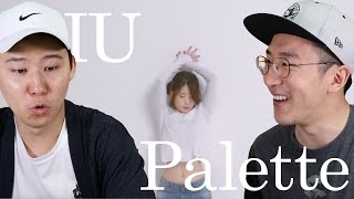 Video IU-Palette (feat. GD) Korean Reaction! MP3, 3GP, MP4, WEBM, AVI, FLV Juni 2018