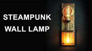 Video Steampunk Wall Lamp Sconces How to Make MP3, 3GP, MP4, WEBM, AVI, FLV Juni 2019