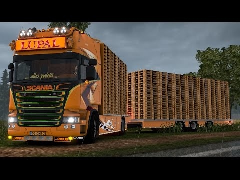 Scania Lupal Update for 1.24 + Trailer
