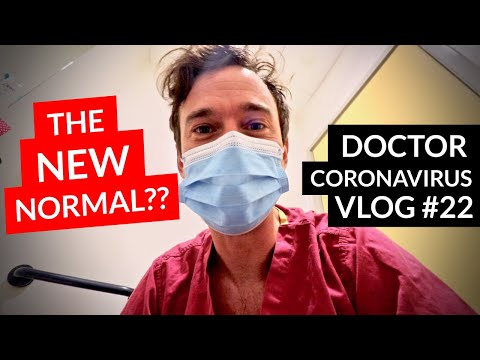 The NEW NORMAL? Day in the Life of an EMERGENCY DOCTOR // Covid-19 Vlog #22
