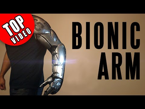 This Guy Makes a Bionic Arm