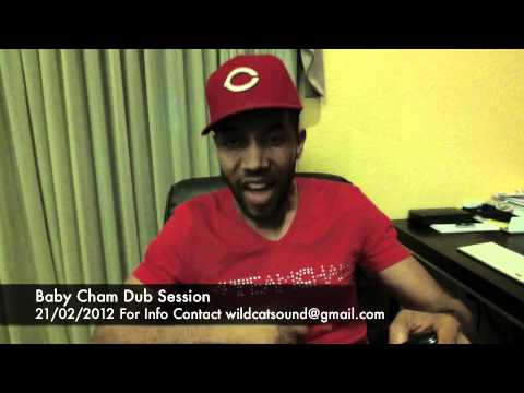 Baby Cham dubplate session with Wildcat Sound