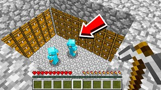 My SECRET Base Got RAIDED! (Minecraft Skyblock)