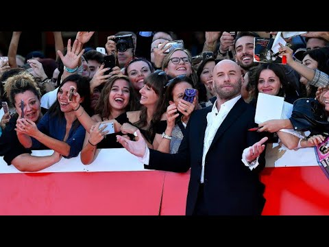 Hollywood-Star John Travolta stellt seinen neusten Fi ...