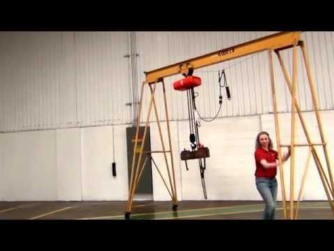 Used Gantry Crane, Fixed or Adjustable Span