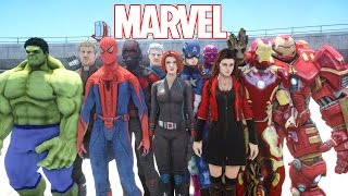 Video ALL MARVEL SUPERHEROES IN GRAND THEFT AUTO MP3, 3GP, MP4, WEBM, AVI, FLV September 2018