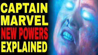 Video Captain Marvel NEW POWERS Explained MP3, 3GP, MP4, WEBM, AVI, FLV Maret 2019