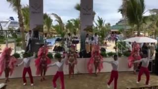 Dancers at Amber Cove, Dominican Republic
