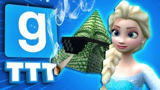 WE HAVE TO BE FRIENDLY?! | Gmod TTT