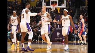 Lakers Put On Highlight Show vs. Detroit Pistons