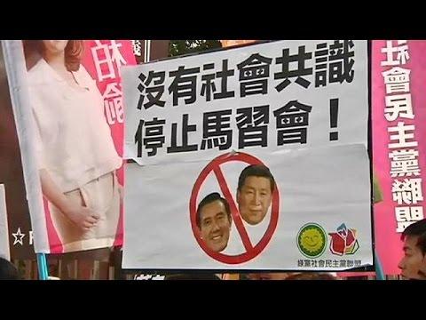 Ιστορική συνάντηση των ηγετών Κίνας – Ταϊβάν μετά από 66 χρόνια