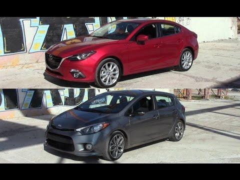 2015 Mazda 3 Grand Touring vs 2015 Kia Forte 5 Door turbo
