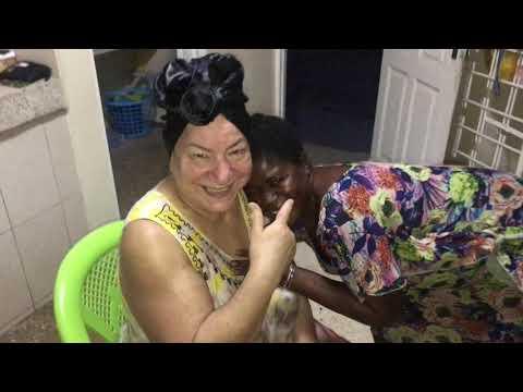 Como Ponerse Un Ghanaian Gele Duku, Desde Ghana