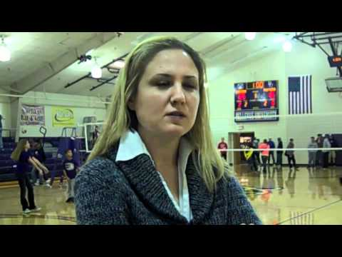 Volleyball interview with Siedlik vs. York, 10.18.2011