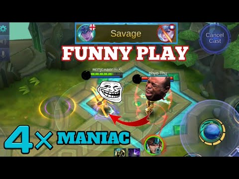 PRO Noobest Play | MOBILE LEGENDS FUNNY PLAY | INSANE PLAY | MOBILE LEGENDS
