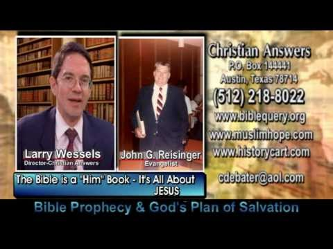 """The Bible is a """"HIM"""" Book – It's All About Jesus"""