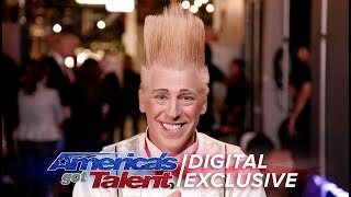 Elimination Interview: Bello Nock Achieves His Dreams - America's Got Talent 2017
